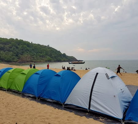 Gokarna Beach Camping Experience