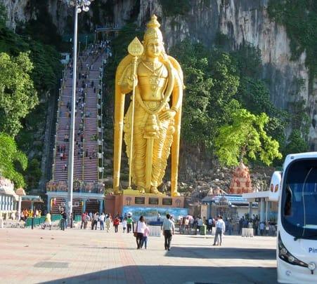 Half Day Tour of Suburbian Kuala Lumpur and Batu Caves