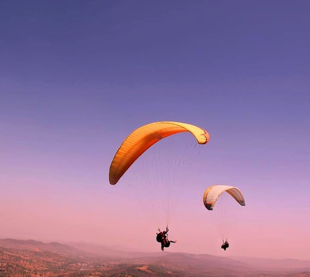 Paragliding Joyride in Saputara