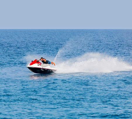 Jet Ski Ride in Kochi