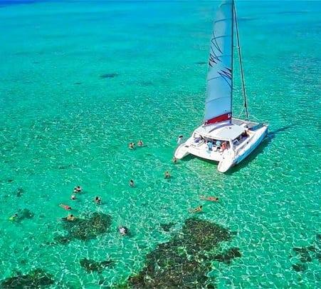 South Coast Cruise at Mahebourg in Mauritius