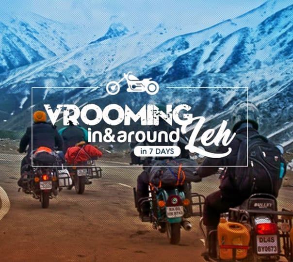 Leh Bike Tour Adventure with Camping