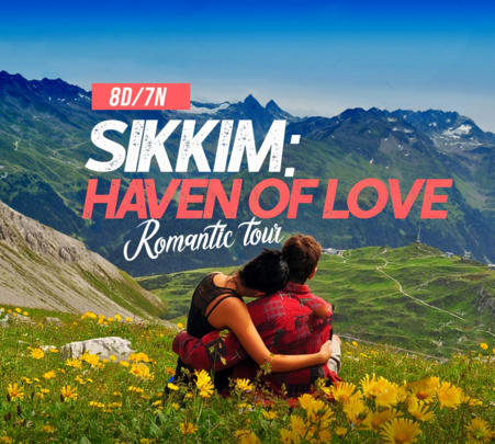 8 Days Romantic Tour of Gangtok, North Sikkim and Darjeeling