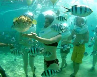 Sea-walking Experience at South Kuta in Bali