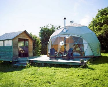 Luxurious Eco-dome Stay Experience in Manali
