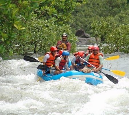 Rafting in Sitanadi, Near Agumbe, Western Ghats