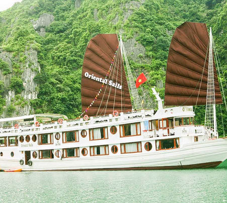 Oriental Sails 3 Days/2 Nights Cruise from Hanoi to Ha Long Bay