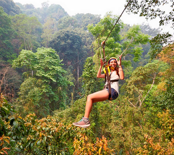 Flight of the Gibbon Zipline Canopy Tours