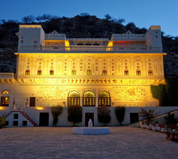Heritage Stay at Castle Kalwar in Jaipur