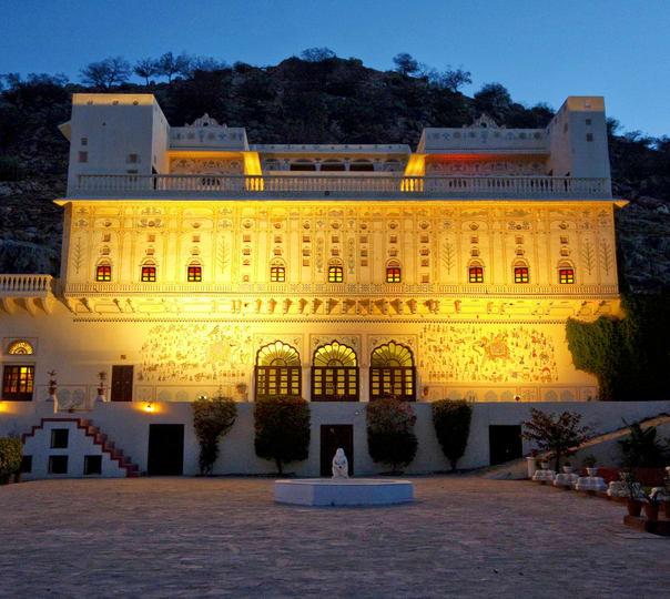 Heritage Stay at Castle Kalwar in Jaipur