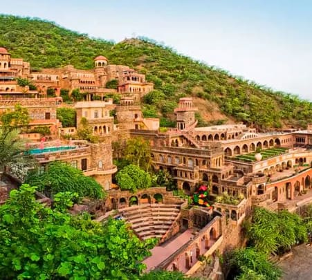 Heritage Fort Stay in Neemrana, Rajasthan Flat 35% Off