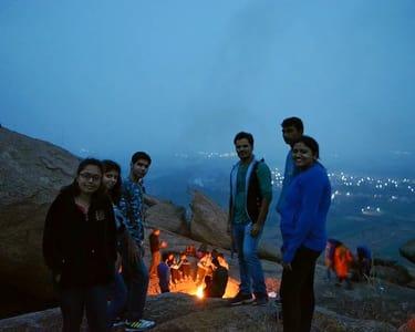 Savandurga Night Trek and Water Activities near Bangalore
