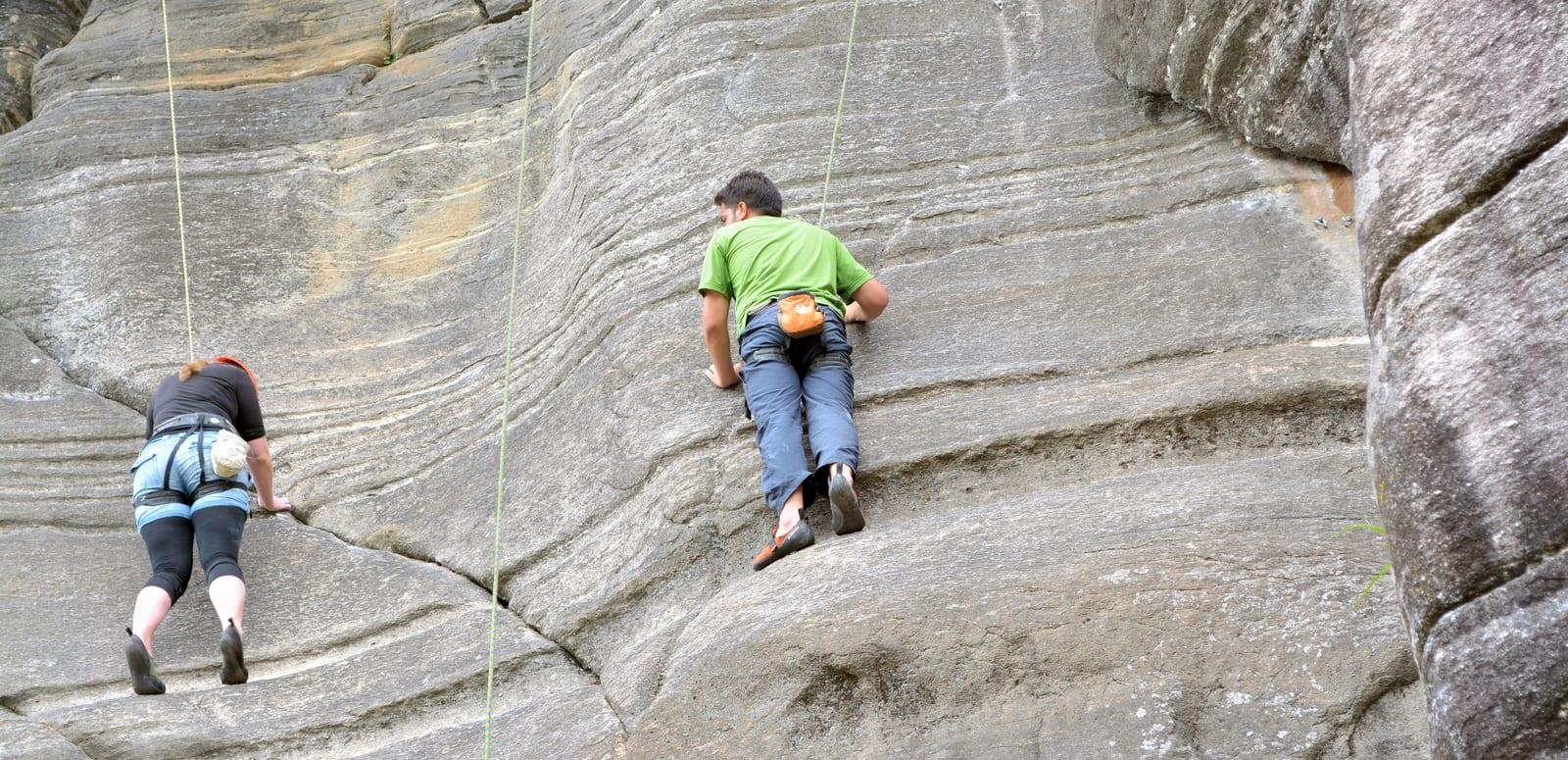 Rock Climbing At Vashisht