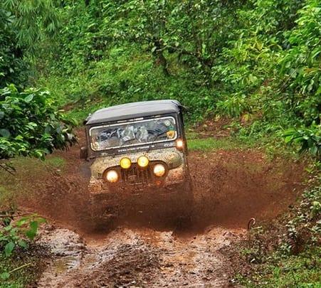 Off Road Jeep Drive To Nishani Hills