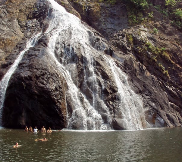 Trip to Dudhsagar Waterfalls, Goa