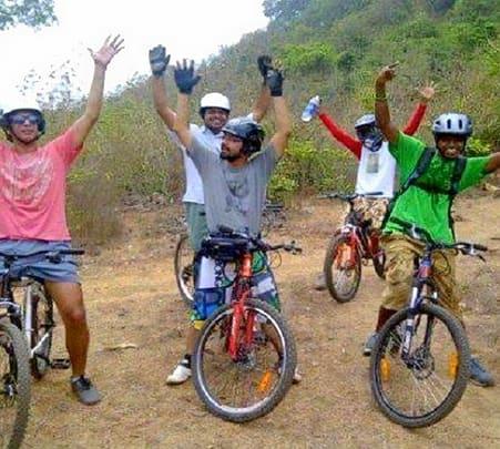 Mountain Biking near Kundalika River