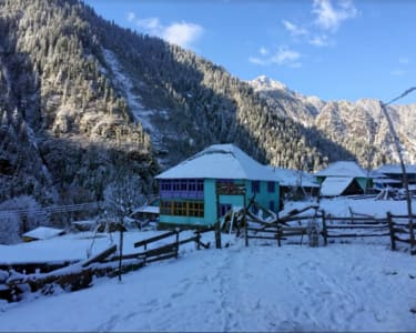 3d/2n Kasol Winter Trek