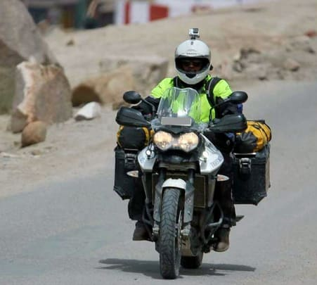 Rajasthan Tour On Triumph Tiger XRX