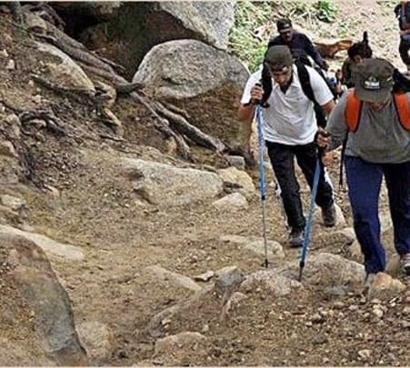Trekking from Ranakpur to Roopanmata