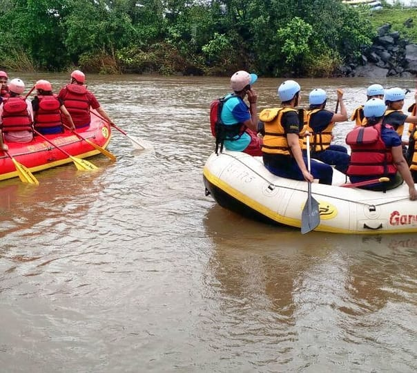 Rafting in Kundalika River, Kolad in Maharashtra