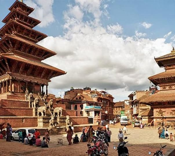 Sightseeing Tour around Kathmandu Valley in Nepal