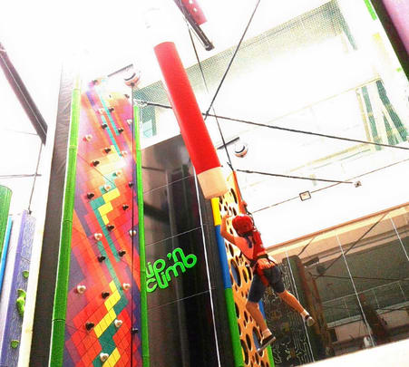 Clip N Climb at Whitefield, Bangalore