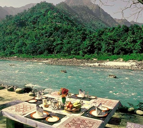 River Side Stay at Glass House,Rishikesh