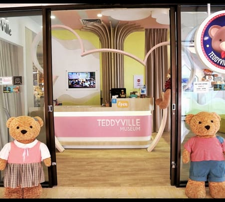 Teddyville Museum Penang Tickets, Flat 10% off