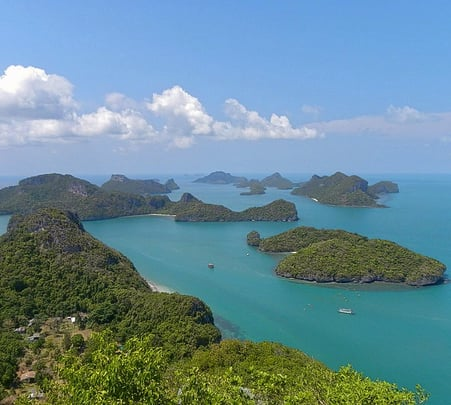 Discover Cham Island in a Helicopter