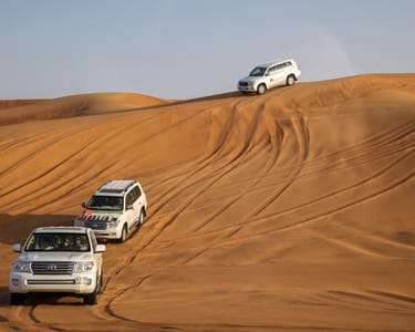 Evening Desert Safari Abu Dhabi Flat 15% off