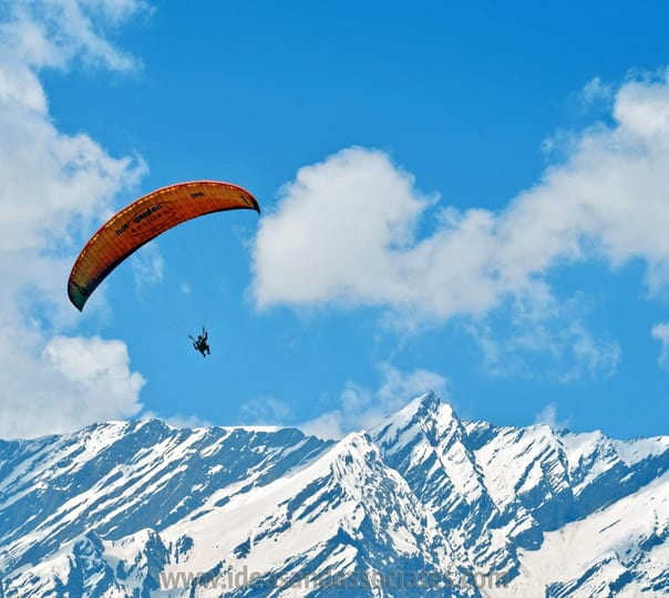 Paragliding Experience at Kothi in Kullu