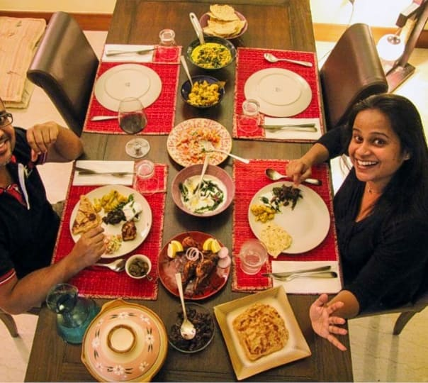 Home-cooked Meal & Interaction with Singaporean Family