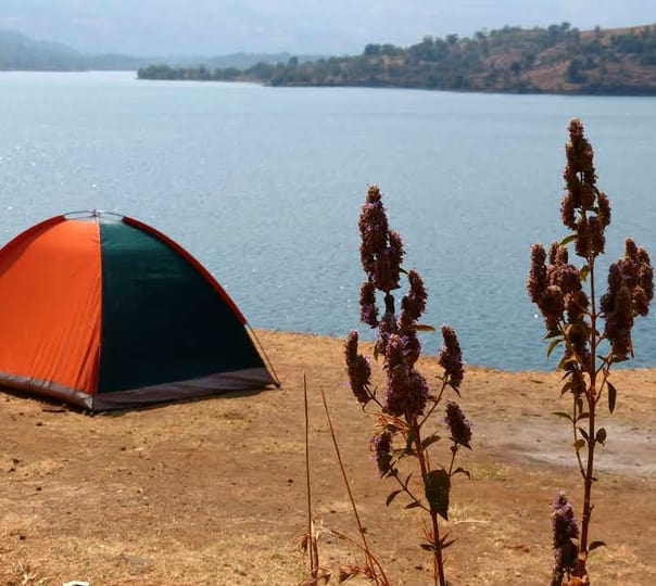 Lakeside Camping near Mukne Dam