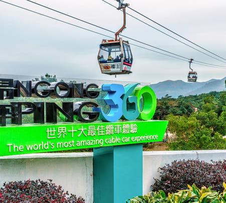 Ngong Ping 360 Crystal Cabin, Hong Kong