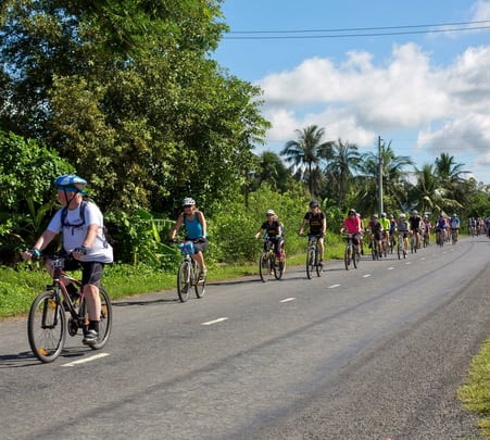 Cycling Tour at Vientiane in Laos