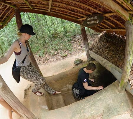 Tour the Tunnels of Cu Chi and Explore the Hidden of Ho Chi Minh City