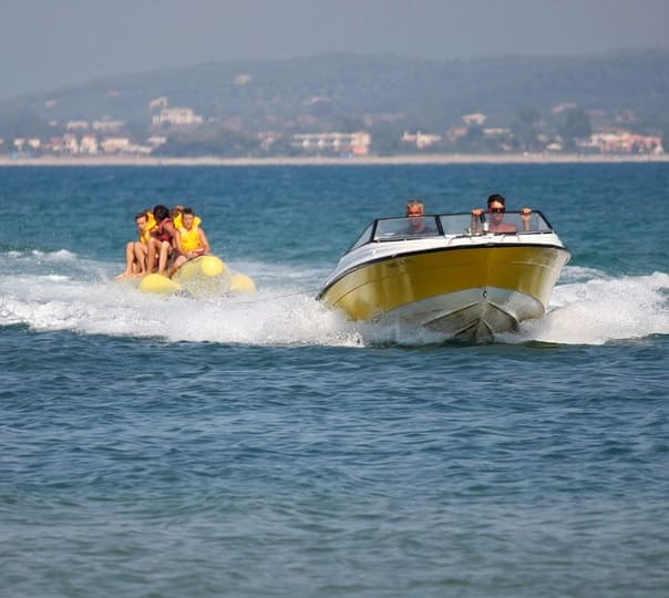 Water Sports Activities at Coco Beach in North Goa