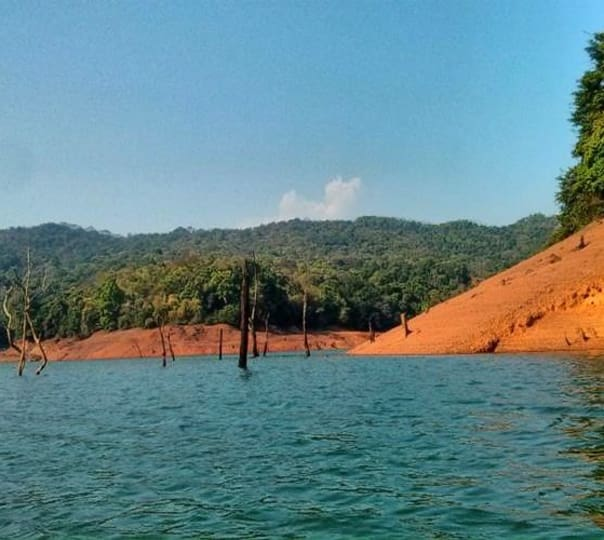 Sharavathi Backwaters Island Trek, Shimoga