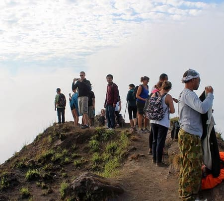 Combo: Mount Batur Trekking with Hot Spring in Bali Flat 10% off