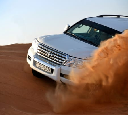 Dune Bashing in Dubai - Flat 15% off
