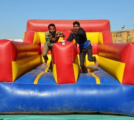 Bungee Run Activity in Jaisalmer
