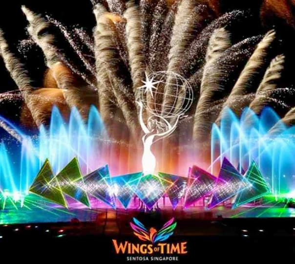 Ticket to Wings of Times : Musical Fountain & Laser Show