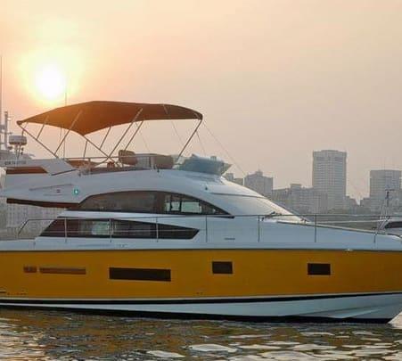 Champion Cruiser Yacht Ride in Panjim, Goa