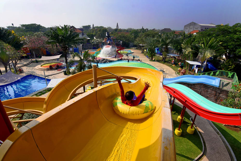 Go for a Splash at Waterbom