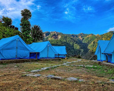 Camping with Waterfall Trekking in Shimla