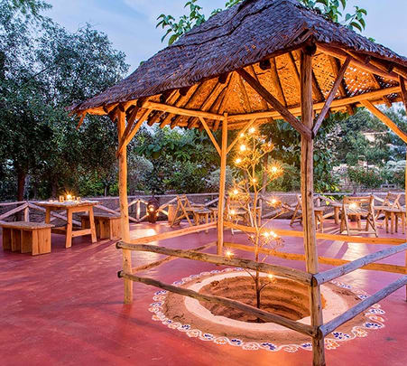 Stay in Wilderness Camp at Pench