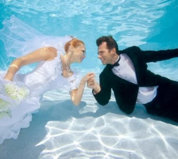 Wedding Under the Sea in Mauritius