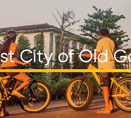 Cycling Tour of Old Goa - Flat 15% Off