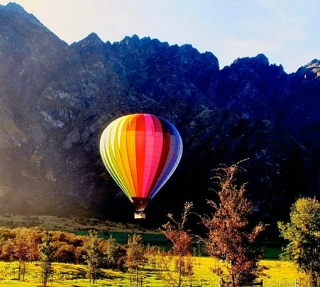 Hot Air Ballooning in New Zealand
