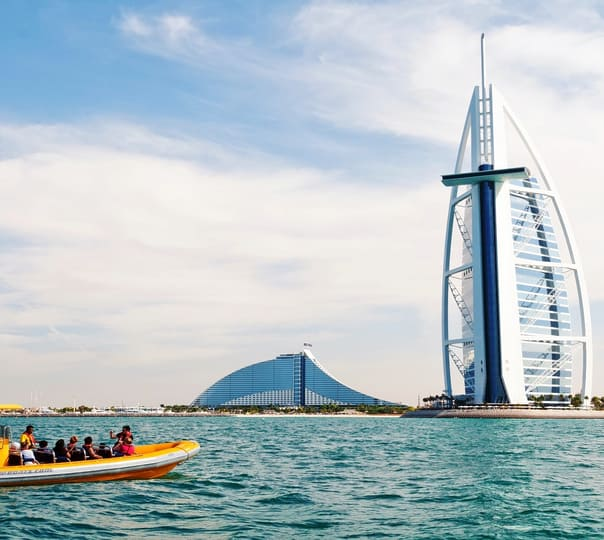 Boat Ride to Palm Jumeirah, Burj Al Arab & Marina